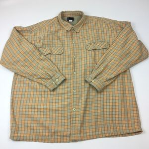 Patagonia Flannel Button Front Shirt